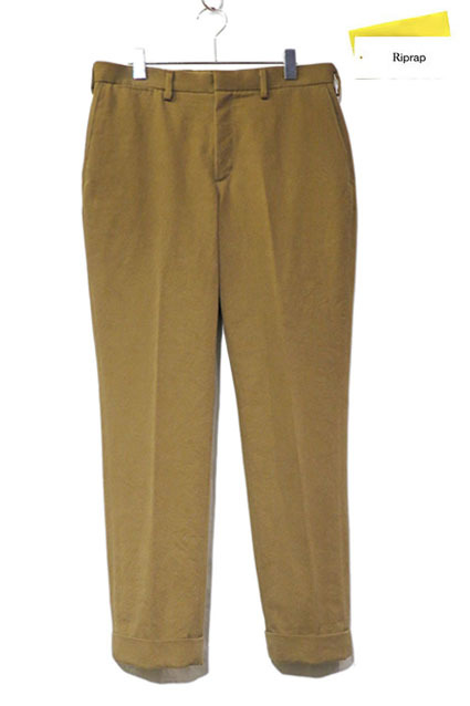 "画像1: Riprap ""No Tuck Slacks"" color : TABACCO size :MEDIUM-REGULAR"