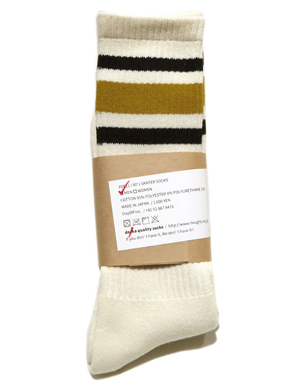 "画像1: decka quality socks ""SKATER SOCKS"" made in JAPAN ONE SIZE color : Yellow"