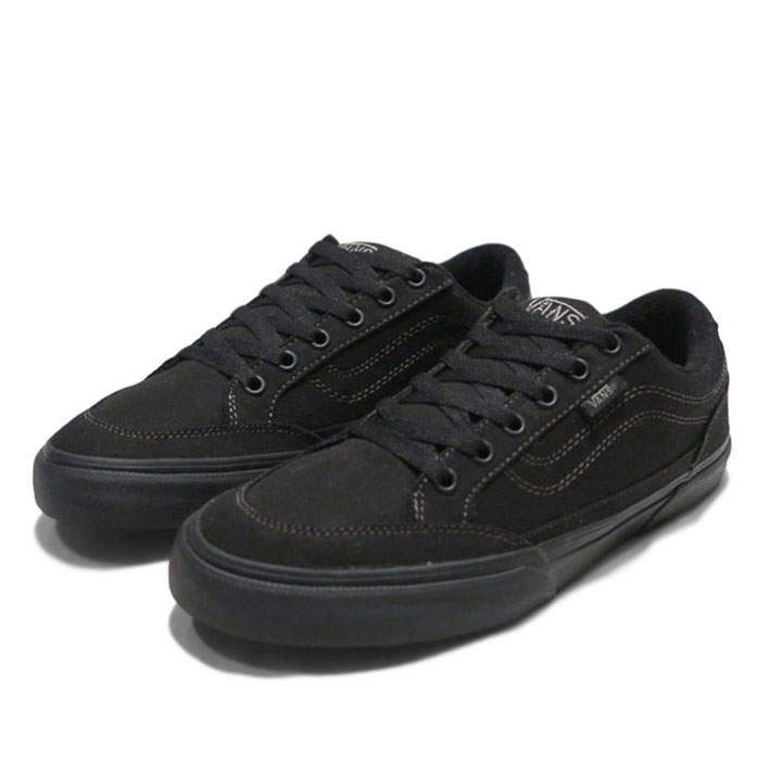 "画像1: NEW VANS ""BEARCAT"" Canvas Skate Shoes Black size 8.5, 9.5, 10"