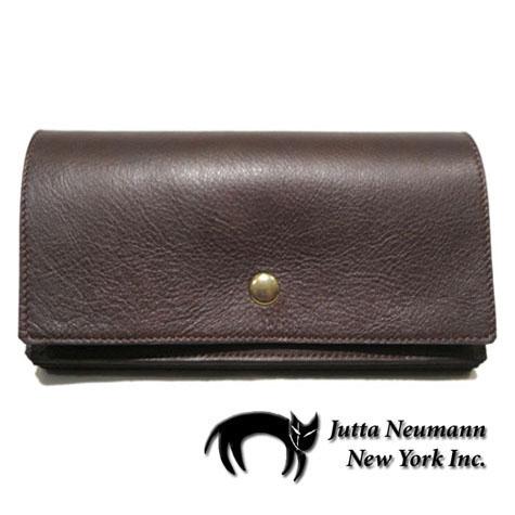 """画像1: """"JUTTA NEUMANN"""" Leather Wallet """"the Waiter's Wallet""""  color : Brown / Yellow Brown 長財布"""