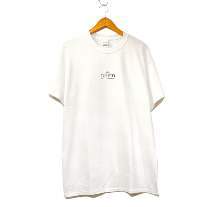 "画像2: the poem clothing store ""LOGO S/S Tee"" WHITE size S,M,L,XL,2XL"