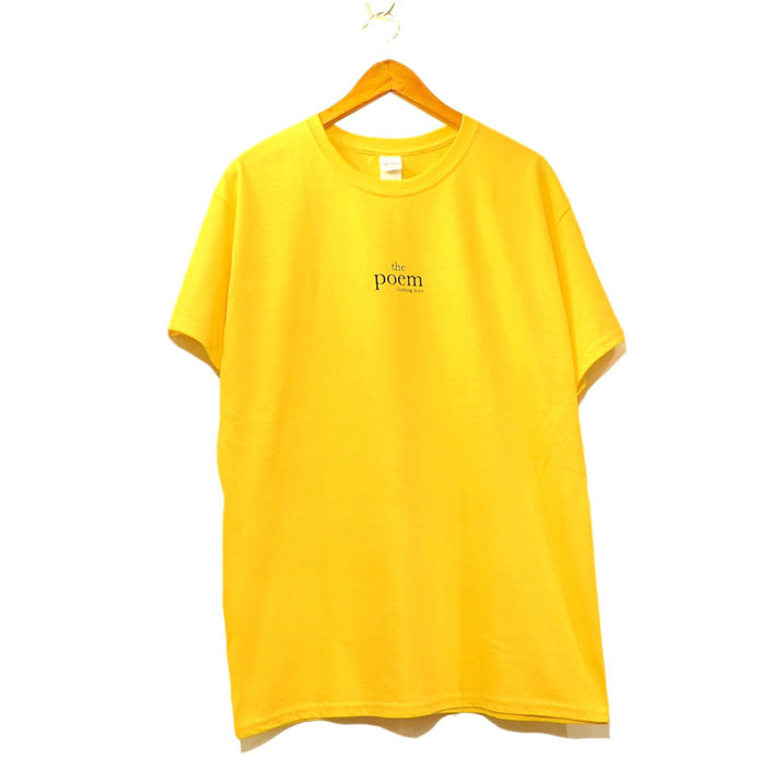 "画像2: the poem clothing store ""LOGO S/S Tee"" YELLOW size S,M,L,XL,2XL"