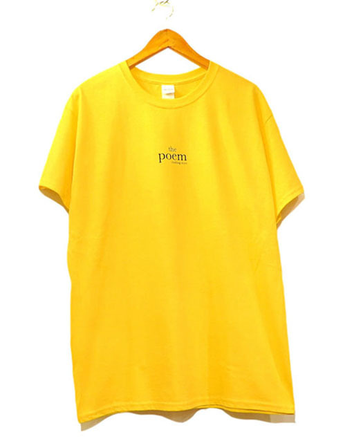 "画像1: the poem clothing store ""LOGO S/S Tee"" YELLOW size S,M,L,XL,2XL"