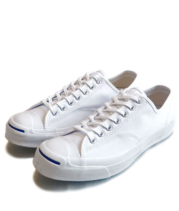 "画像1: NEW Converse ""Jack Purcell Signature"" Canvas Sneaker WHITE size 11"