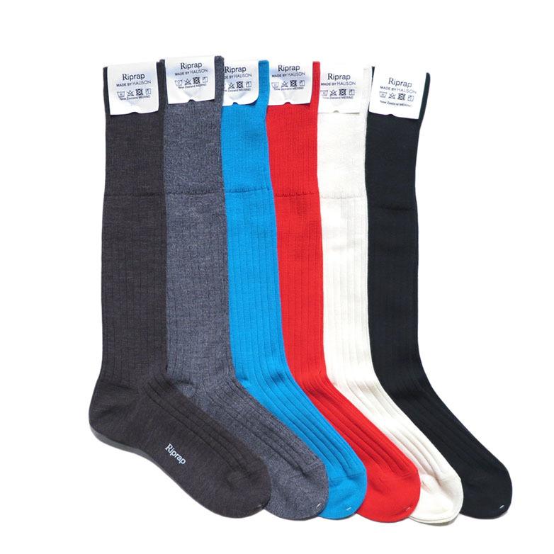 """画像2: Riprap """"Nz Merino Long Hose Socks"""" size MEN'S FREE (25~27cm)"""