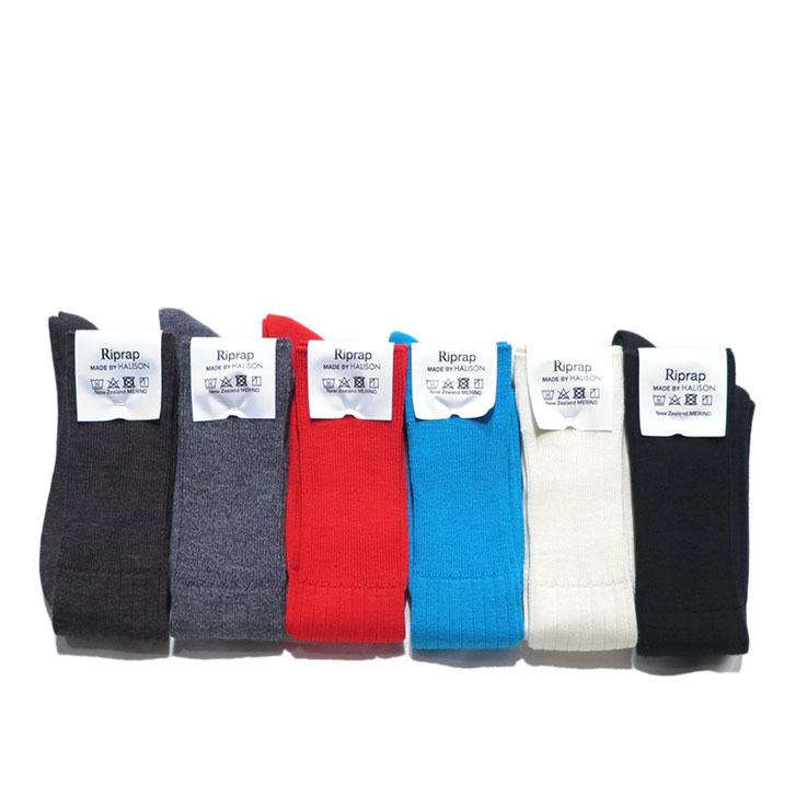 """画像5: Riprap """"Nz Merino Long Hose Socks"""" size MEN'S FREE (25~27cm)"""