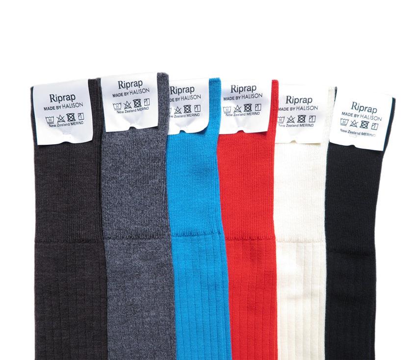 """画像3: Riprap """"Nz Merino Long Hose Socks"""" size MEN'S FREE (25~27cm)"""