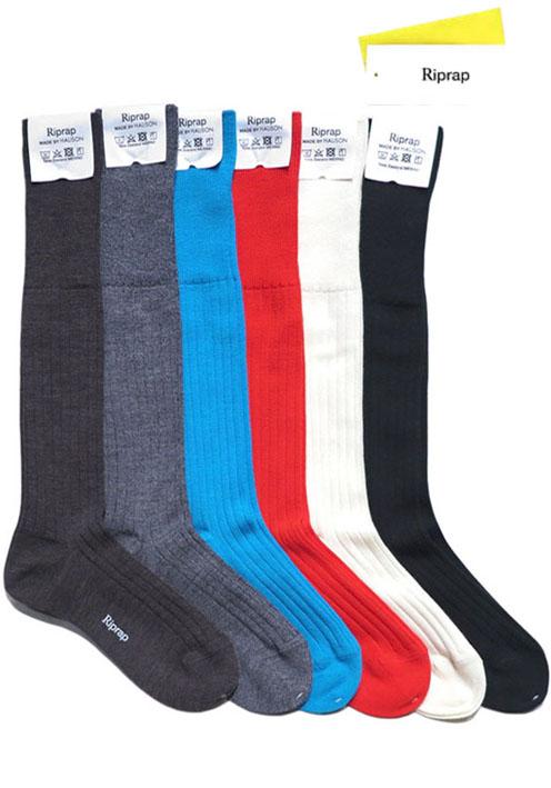 """画像1: Riprap """"Nz Merino Long Hose Socks"""" size MEN'S FREE (25~27cm)"""