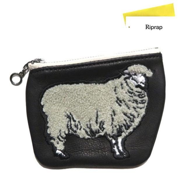 """画像1: Riprap """"Sheep Coin Purse"""" color : BLACK size FREE (one size)"""