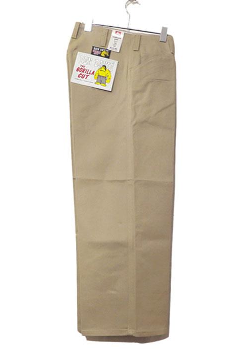 """画像1: BEN DAVIS  """"THE GORILLA CUT"""" Wide Work Pants BEIGE size  w 30 / w 32"""