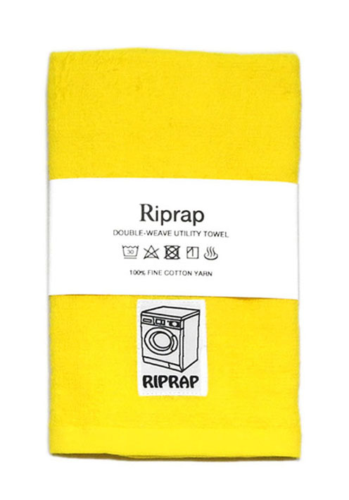 "画像1: Riprap ""Double-Weave Utility Towel"" color : POLLEN ONE SIZE"