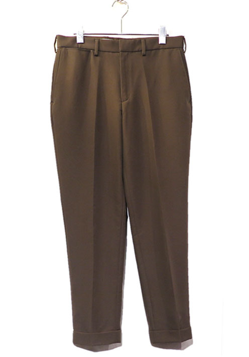 "画像1: Riprap ""C/N Double Cloth No Tuck Slacks"" color : WALNUT"