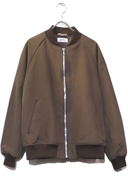"画像1: Riprap ""C/N Double Cloth Drifter Jacket"" color : WALNUT size MEDIUM"