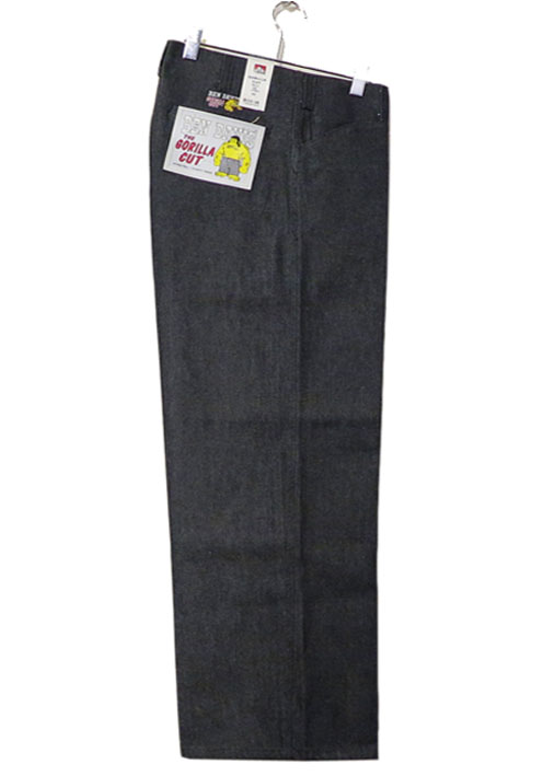 "画像1: BEN DAVIS  ""THE GORILLA CUT"" Wide Work Pants BLACK DENIM size w 30 / w 32"