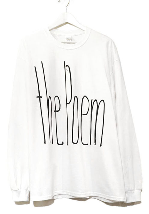 "画像1: the poem clothing store ""NEW LOGO L/S Tee"" WHITE size L, XL, 2XL, 3XL"