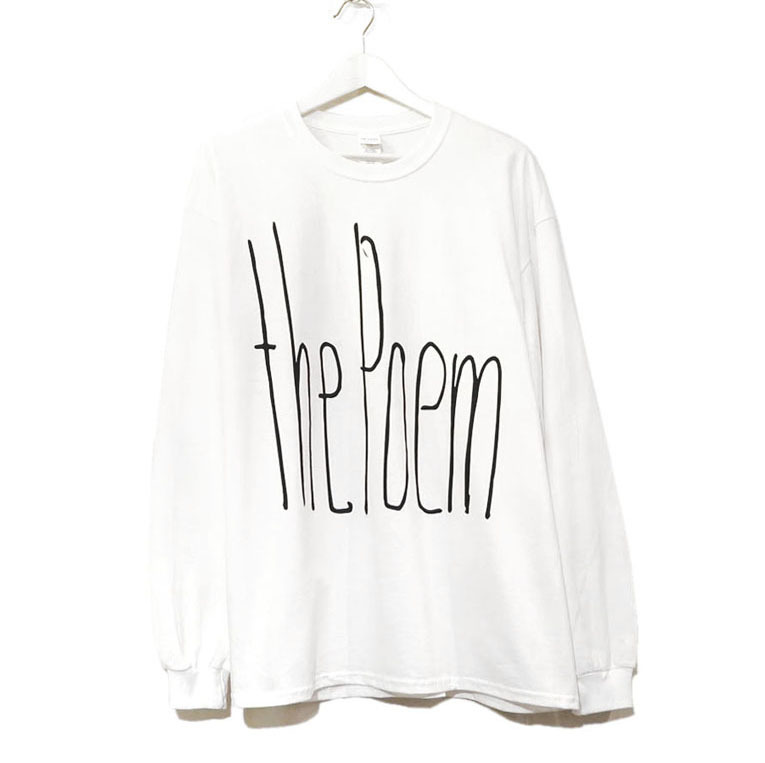 "画像5: the poem clothing store ""NEW LOGO L/S Tee"" WHITE size L, XL, 2XL, 3XL"