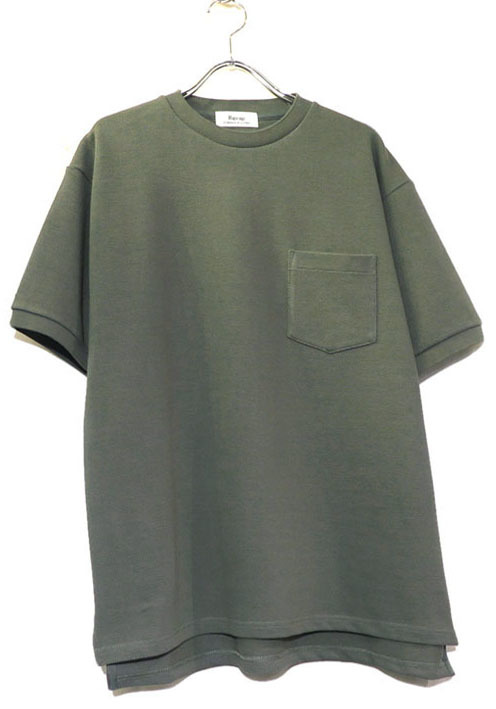 "画像1: Riprap ""Crew Neck Pocket Polo Shirts""  color : SAGE"