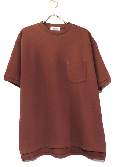 "画像1: Riprap ""Crew Neck Pocket Polo Shirts""  color : RUST"