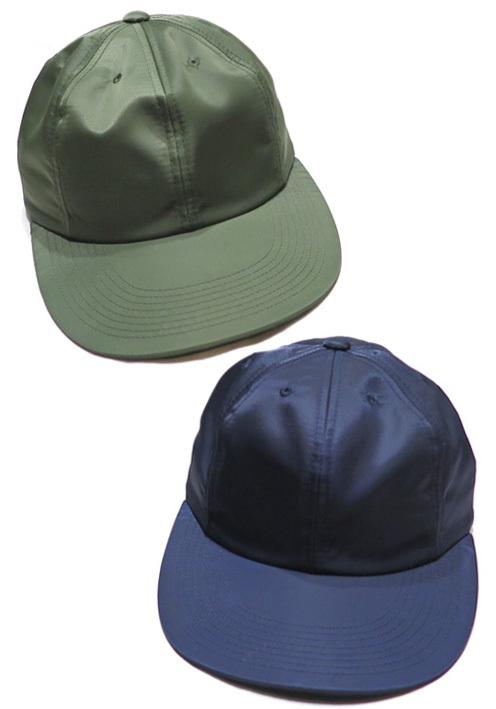 """画像1: Riprap """"Semi Long Brim Cap"""" color : OLIVE, NAVY size FREE"""