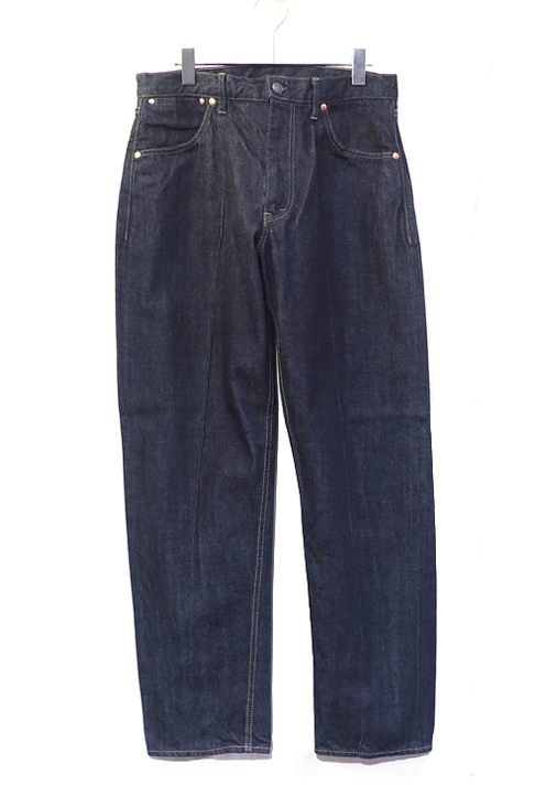 "画像1: Riprap """"Twisted Crease Jeans"" -RELAXED FIT- color : INDIGO size SMALL, MEDIUM, LARGE,"