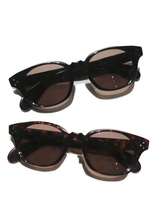"画像1: Riprap ""JAZZ"" Sunglasses -made by kearny- color : BLACK, DEMI size FREE"