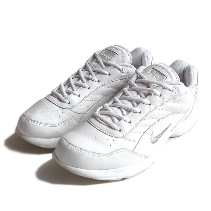 画像1: 2003's NIKE Airliner Walking Sneaker color : WHITE/SILVER size US 11