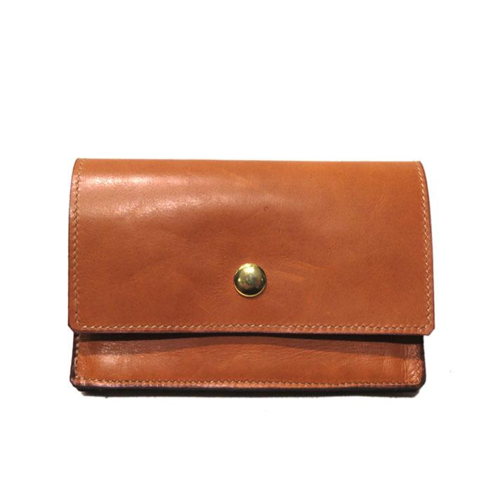 """画像1: """"JUTTA NEUMANN"""" Leather Wallet """"Waiter's Wallet""""  -MEDIUM SIZE- color : Caramel / Dark Brown"""