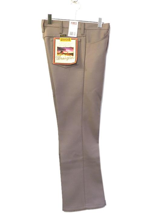 """画像1: Wrangler """"WRANCHER DRESS JEANS""""  Boot Cut Pants BEIGE (1)"""