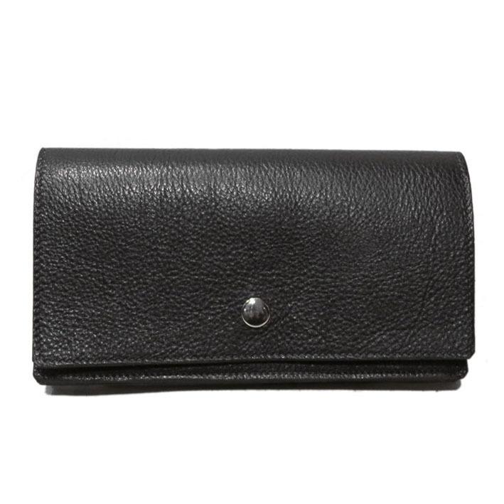 """画像1: """"JUTTA NEUMANN"""" Leather Wallet """"Waiter's Wallet"""" -長財布- color : Black / Charcoal"""