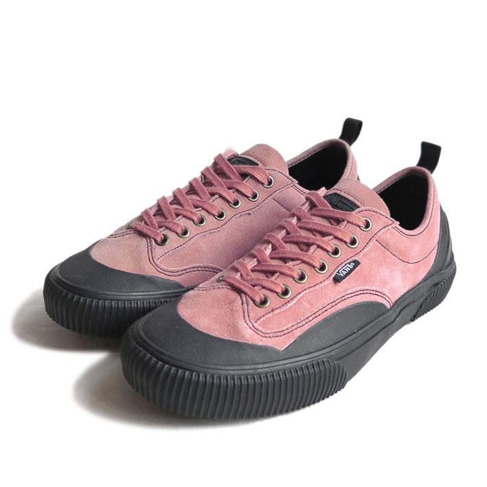 """画像1: NEW VANS """"DESTRUCT SF"""" Suede Leather Sneaker color : PINK/BLACK size US 8,5, 9, 10 (1)"""