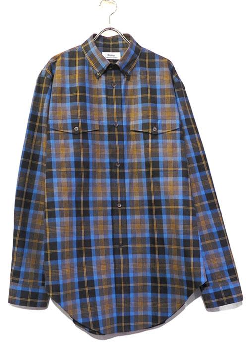 """画像1: Riprap """"Hemline B.D. Collar Shirts""""  color : WEATHERED size MEDIUM, LARGE, X-LARGE (1)"""