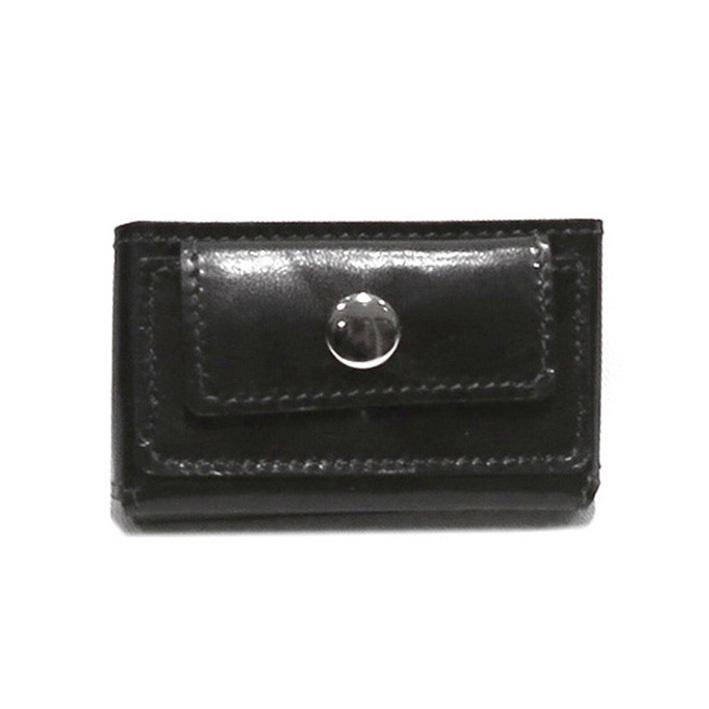 """画像1: """"JUTTA NEUMANN"""" Leather Wallet """"Scotts Purse""""  -MINIMAL SIZE- color : BLACK / MUSTARD (1)"""