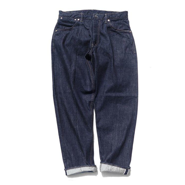 """画像1: Riprap """"Twisted Crease Jeans"""" -RELAXED FIT- color : INDIGO size W30~34INCH (S~L) (1)"""