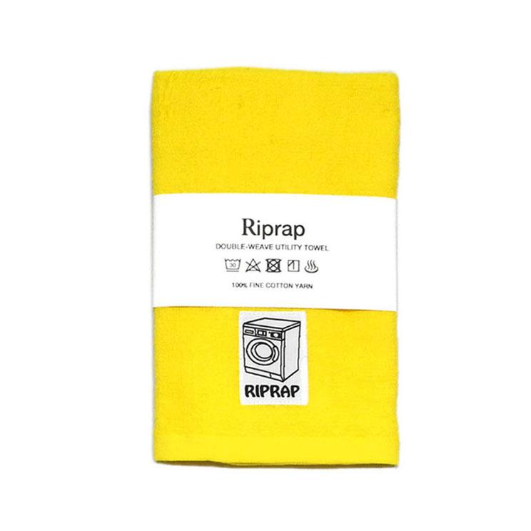 """画像1: Riprap """"Double-Weave Utility Towel"""" color POLLEN ONE SIZE (1)"""