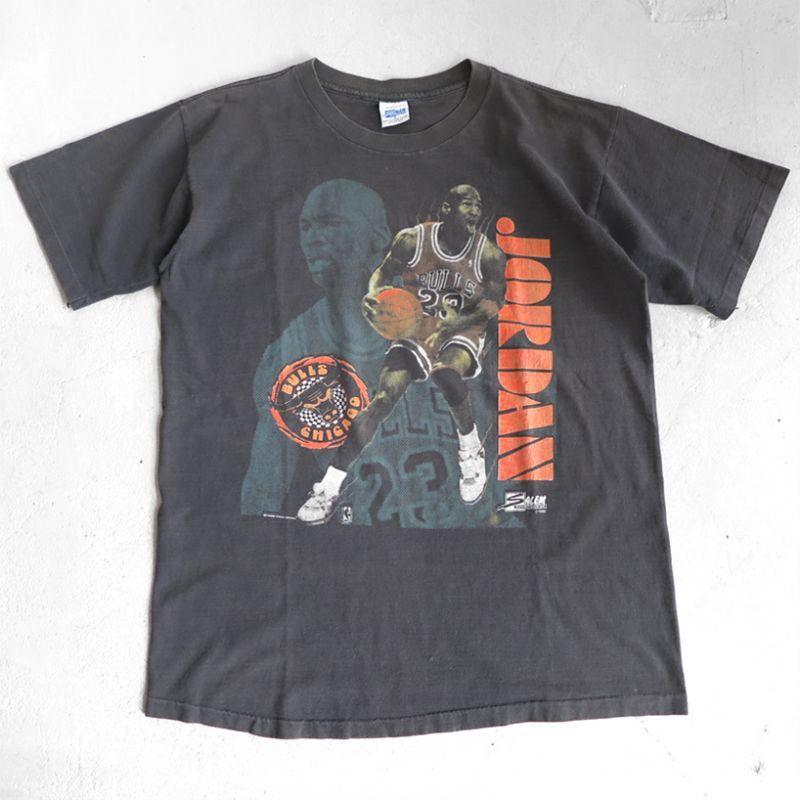 "画像1: 1990's SALEM ""MICHAEL JORDAN"" Print T-Shirt BLACK size M-L (1)"