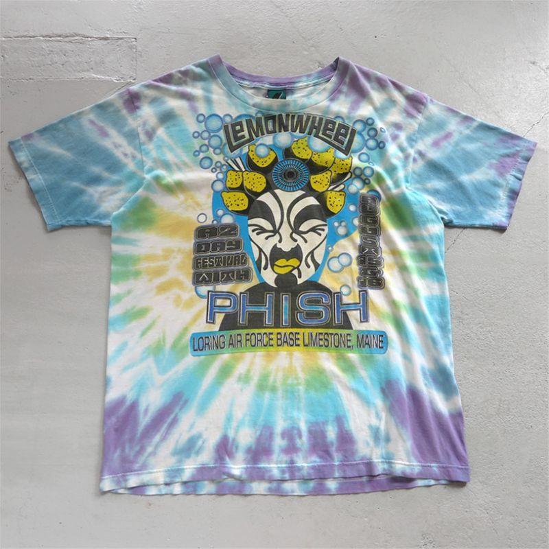 """画像1: 1990's """"PHISH"""" Lemonweel Tour Print T-Shirt TIE DYE size XL (1)"""