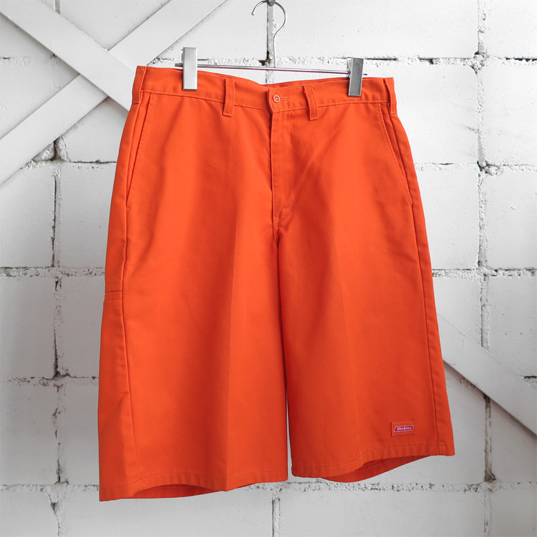 """画像1: """"Dickies"""" Loose Fit Work Shorts ORANGE size W32INCH (1)"""