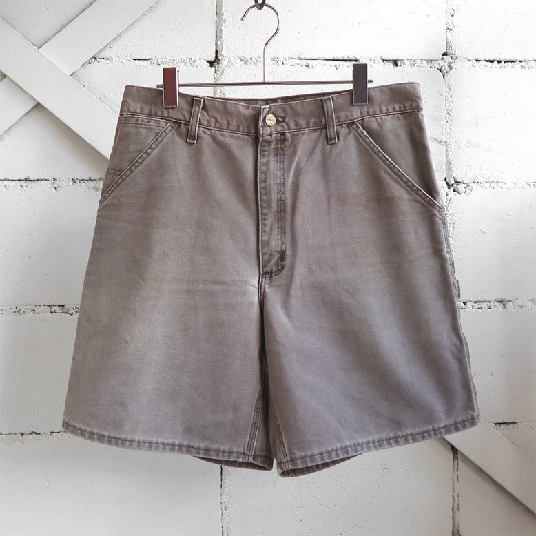 "画像1: ""Carhartt"" Duck Canvas Work Shorts LIGHT BRWON size W34INCH (1)"