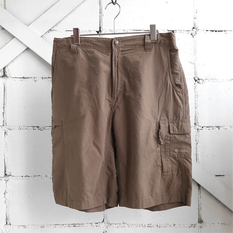 "画像1: ""Columbia Smooth Nylon Cargo Shorts MOCHA BROWN size W33~36INCH (1)"