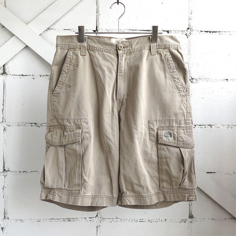 """画像1: """"Levi's"""" Chino Cargo Shorts LIGHT BEIGE size W35INCH (1)"""