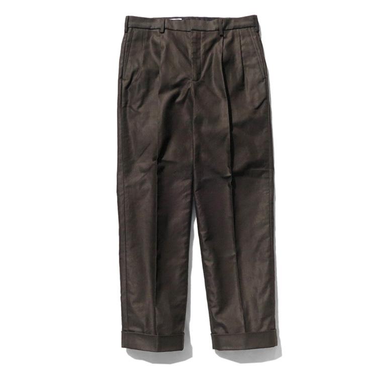 """画像1: Riprap """"Two Tuck Slacks"""" -Cotton Army Serge- color : SUNBURN size LARGE-REGULAR (1)"""
