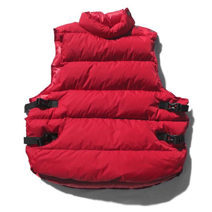 """画像1: Riprap """"Down Not Life Jacket"""" color : RED size LARGE (1)"""