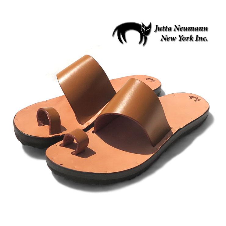 """画像1: JUTTA NEUMANN """"ALICE"""" Leather Sandal TAN/NATURAL size 7~11 D (1)"""